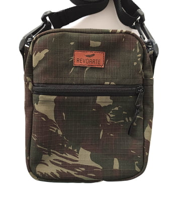 Shoulder Bag Camuflada Mini Bolsa Transversal
