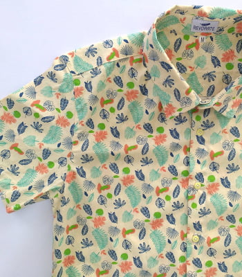 Camisa Estampada Tropical